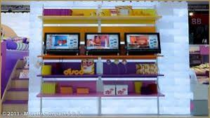 libreria ragazzi scaffale a libreria compact colorato per cameretta per