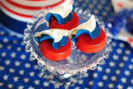 Red White And Blue Chocolate Kara U0027s Party Ideas Red White Blue July 4th Party Planning Ideas
