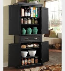 Stylish Tall Kitchen Pantry Cabinet All Home Decorations - Black kitchen pantry cabinet