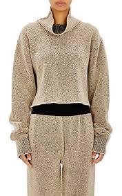 adidas crop top sweater adidas originals by kanye crop bouclé turtleneck sweater