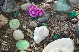 fairy garden rocks peace but not quiet
