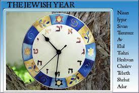 hebrew calendars the calendar in ancient hebrew history