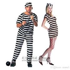 Prisoner Halloween Costume Halloween Costume Costume Party Dress Cosplay Costume Male