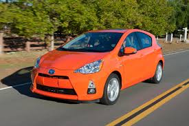 used cars toyota prius 2012 toyota prius c buyers like it but not consumer reports