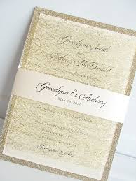 wedding invitations gold lace wedding invites lace wedding invitations