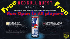 red bull light up sign destiny the taken king redbull quest now free opening up to all
