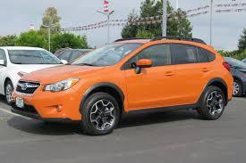 subaru orange pre owned 2015 subaru xv crosstrek premium sport utility in san