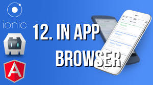 ionic inappbrowser tutorial 12 inappbrowser con ionic youtube