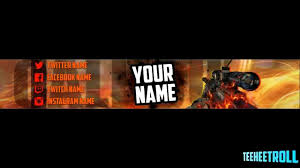 call of duty youtube channel art template speed art youtube