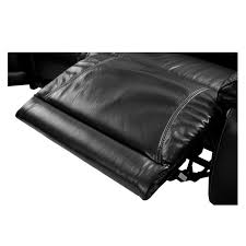 Astor Black Power Motion Leather Sofa WRight Left  Armless - What is a motion sofa