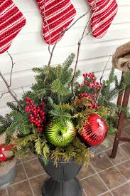 Christmas Decor On The Cheap by Diy Christmas Urns On A Budget The Creek Line House