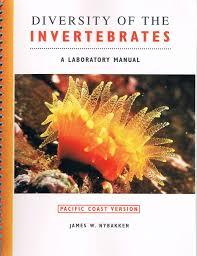 diversity of the invertebrates a laboratory manual pacific coast