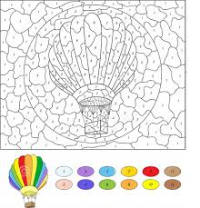 color by number mosaic printable activity shelter