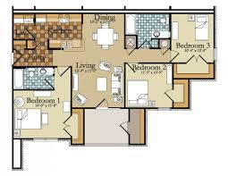 single story house plans without garage 3 bedroom house plan indian style contemporary plans glamorous