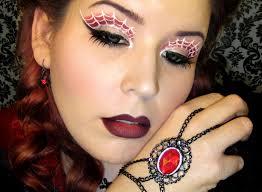 goldiestarling u0027s art of beauty blog halloween makeup spider queen