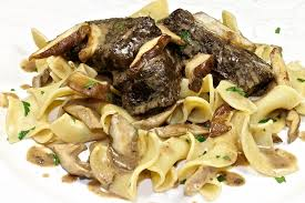 braised short ribs with wild mushrooms back road journal