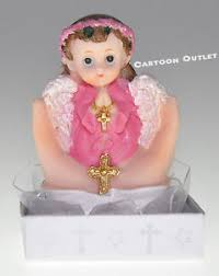baptism figurines 12 pc recuerdos de bautizo baptism figurines angel girl cake topper