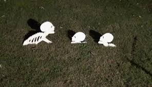 how to make a skeleton for halloween decoration youtube