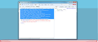 html layout under css extra whitespace under the html tag stack overflow