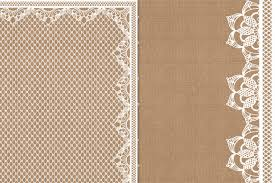 burlap and lace digital paper burlap wedding invitation paper
