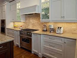 kitchen backsplash for white cabinets cool backsplash with white cabinets 8 kitchen brick and brown home