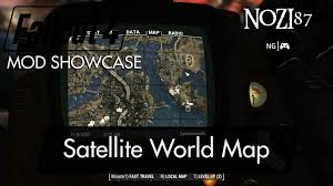 Fallout World Map by Fallout 4 Mod Showcase Satellite World Map By Floorbelow Youtube