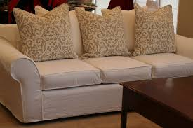 slipcovers for pillow back sofas pillowck sofa attached covers fixed repairpillow cushionspillow