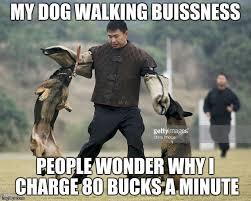 Walking Meme - dog walking imgflip