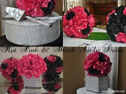 Centerpieces For Table 57 Best Party Pink And Black Images On Pinterest Marriage