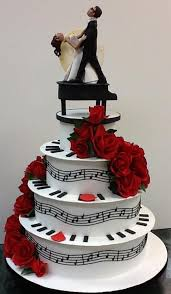 piano cake topper musician wedding cake toppers ideas totally awesome wedding ideas