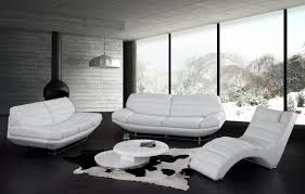 White Couch Living Room Modern White Leather Couch Nyfarms Info