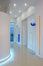 Led Ceiling Strip Lights by Ceiling Recessed Lights And Led Strip Lights Over The Floor For