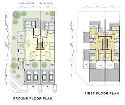 Floor Plan Two Storey by Highfields Phase 2 Hock Seng Lee Berhad Hsl Property