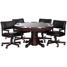 game table and chairs set heritage 3 in 1 game table and chair set hayneedle