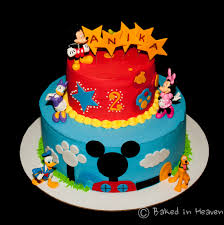 mickey mouse clubhouse cake baked in heaven