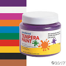 tempera paint