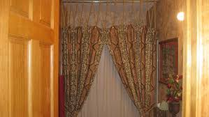 How To Use Curtain Tie Backs Shower Curtains With Valance And Tiebacks Tags Shower Curtains