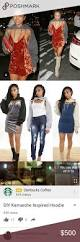 karrueche inspired crop sweatshirt diy get the karruche inspired