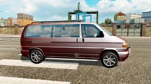 volkswagen caravelle caravelle for traffic for euro truck simulator 2