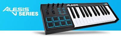 amazon black friday midi keyboards sale alesis v61 61 key usb midi keyboard controller with 8 backlit pads