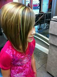 kids angled bob haircut inverted bob with feathers on little peighton lushloxbycarleejo