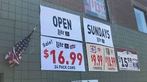 small family owned liquor stores provide sunday sales report card