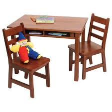 cherry wood kids desk 42 solid wood kids table and chairs amish mission kids