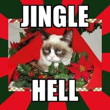 Grumpy Cat Memes Christmas - jingle hell grumpy cat know your meme