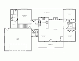 o good looking open floor plan house plans one story unique in