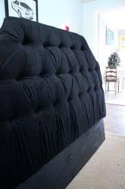 Diy Tufted Headboard Black Velvet Tufted Headboard U2013 Senalka Com