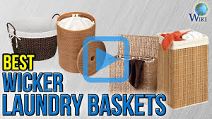 Designer Laundry Hampers by Top 10 Wicker Laundry Baskets Of 2017 Video Review