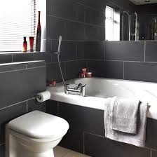 black bathrooms charcoal tiled bathroom black and white bathroom designs
