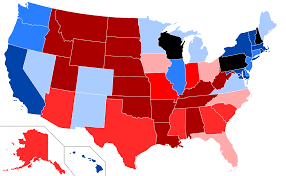 2016 Presidential Election Map Cook Partisan Voting Index Wikipedia