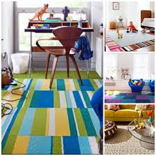 Kid Rug by Creating A Custom Rug With Stylish Flor Carpet Tiles Savvy Sassy